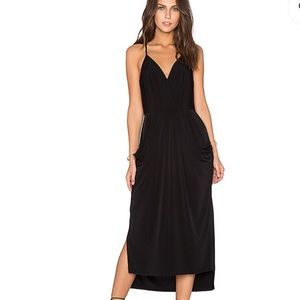 BCBG Generation Sleeveless Surplice Midi dress